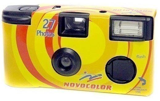 Novocolor Disposable Camera 400/27 With Flash