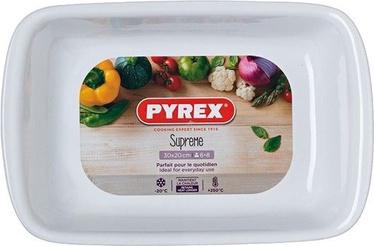 Pyrex Supreme Ceramic Roaster White 30x20cm