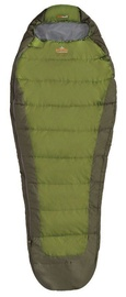 Спальный мешок Pinguin Tramp 185 Green, левый, 185 см