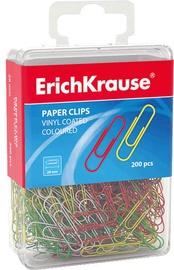 ErichKrause Vinyl Coating Paper Clips 28mm 200pcs