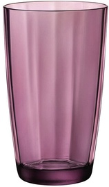 Bormioli Rocco Pulsar Tumbler Clear Purple 470ml