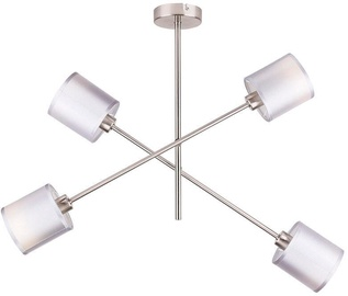 Candellux SAX Hanging Ceiling Lamp 4x40W E14 Satin /Nickel