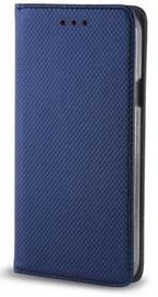 TakeMe Smart Magnetic Fix Book Case For Huawei P40 Lite Dark Blue