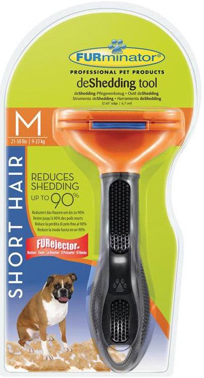 Furminator Short Hair Dog Medium Breed