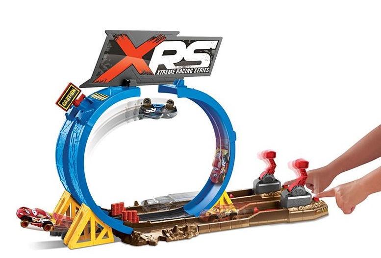 Mattel Disney Pixar Cars XRS Mud Smash & Crash Challenge Playset FYN85