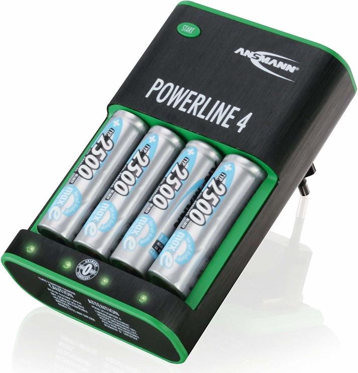 Ansmann Powerline 4 5107553 Zero Watt Battery Charger