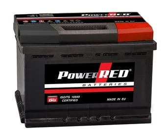 Autoaku Power Red LB2, 55 Ah, 480 A, 12 V