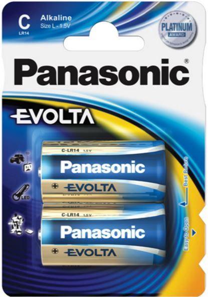 Panasonic Evolta C/LR14 Alkaline Battery x 2