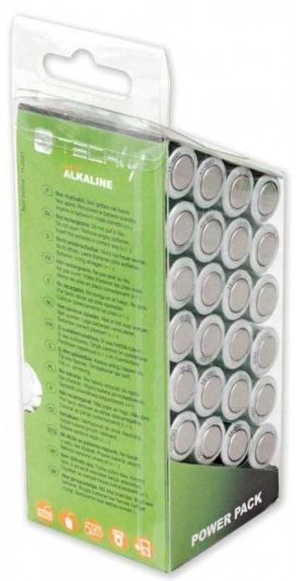 Techly Alkaline Batteries 24x AA