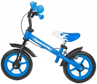 Lastejalgratas Milly Mally DRAGON Balance Bike With Brakes Blue 4751