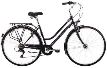 """Jalgratas Romet Angel Vintage, must, 20"""", 28"""""""