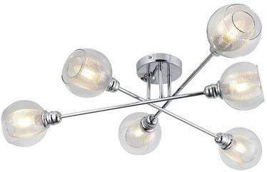 Candellux Dixi Ceiling Lamp 6X40W E14 Chrome