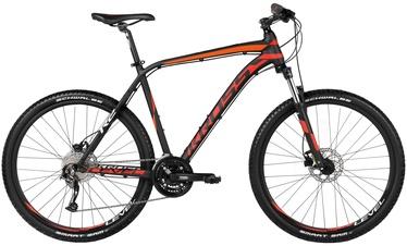 Jalgratas Kross Level R2 27.5 21 Black Red White 16