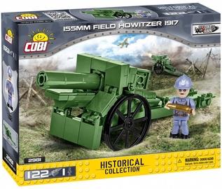 Konstruktor Cobi Small Army 155 mm Field Howitzer 1917 2981, 122 tk