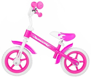 Lastejalgratas Milly Mally Dragon Bike Race Pink 4805