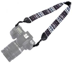Fotocom Camera Strap Black and White