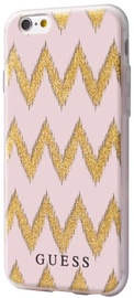 Guess Chevron 3D Effect Back Case For Apple iPhone 7 Pink