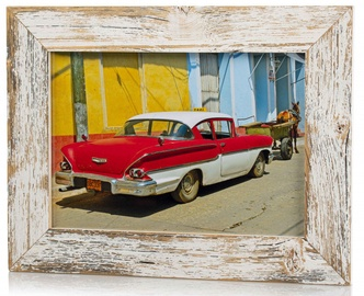 Bad Disain Photo Frame 21x30cm 138994 White