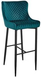 Барный стул Signal Meble Hoker Colin B H-1 Velvet Green/Black, 1 шт.