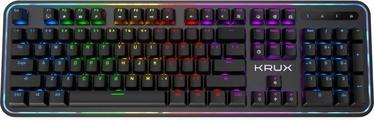 Mänguri klaviatuur Krux Comet RGB Outemu Brown EN