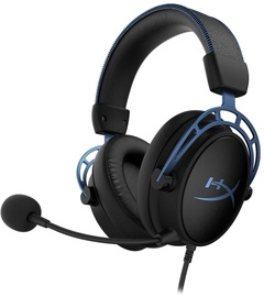 Kõrvaklapid Kingston HyperX Cloud Alpha S Black/Blue