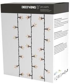 Jõulutuled DecoKing LED Curtains, valge, 7.5 m