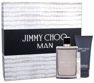 Jimmy Choo Man 100ml EDT + 100ml After Shave Balm + 7.5ml EDT