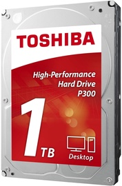Toshiba P300 1TB 7200RPM SATA III 64MB BULK HDWD110UZSVA