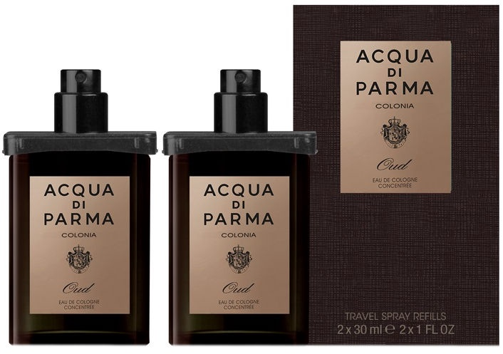 Acqua Di Parma Colonia Intensa Oud 2x30ml EDC Travel Spray Refill