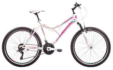 """Capriolo Diavolo 600 FS 17"""" 26"""" White Pink 19"""