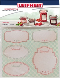 Leifheit Deko-Set Jar Labels Set Of 20pcs Beige
