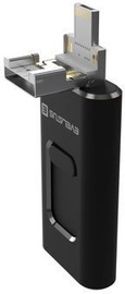 Evelatus USB Flash 4in1 64GB Black