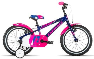 """Laste jalgratas Drag Alpha 16"""" Blue/Pink 20"""