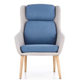 Tugitool Halmar Purio Grey/Blue, 75x67x103 cm