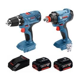 Komplekt Bosch 0615990K6X 18V 2x4.0Ah