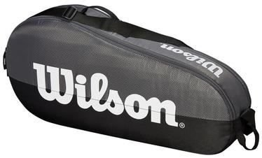 Wilson Team 1 Compartment Small Bag Grey/Black