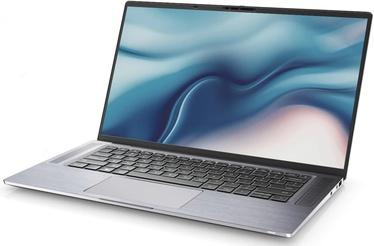 "Sülearvuti Dell Latitude 9510 N012L9510152IN1EMEA Silver EN Intel® Core™ i7, 16GB/256GB, 15"""