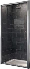 Huppe X1 Shower Doors 900x1900mm Silver/Transparent