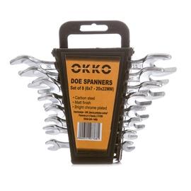 Lehtvõtmete komplekt Okko, 6-22mm, 8tk