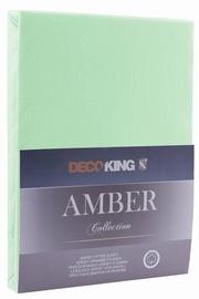 DecoKing Amber Bedsheet 140-160x200 Mint