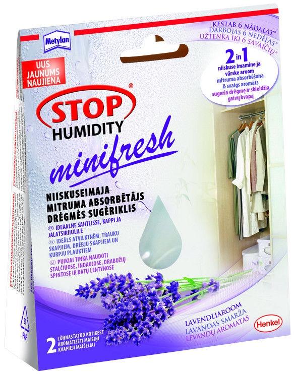 Henkel Makroflex Metylan Stop Humidity Lavender Mini Absorbent Bags 50gx2pcs