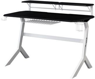 Письменный стол LC-Power Black/White Carbon