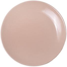 Bradley Alfa Ceramic Dessert Plate 21cm Beige 12pcs