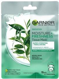 Garnier Skin Naturals Moisture + Freshness Green Tea Tissue Mask 32g