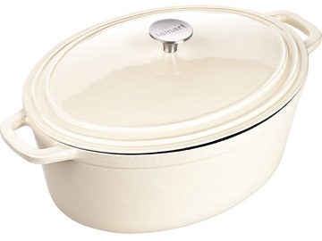 Lamart Cast Iron Pot with Lid LT 1062 Cream