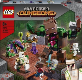 Konstruktor LEGO Minecraft The Jungle Abomination 21176, 489 tk