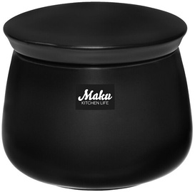 Maku Simple Sugar Bowl Black 200ml