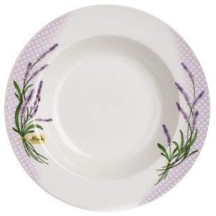 Banquet Lavender Plate 21.6cm