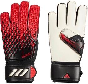 Adidas Predator 20 Match Gloves Black/Red FH7286 Size 7