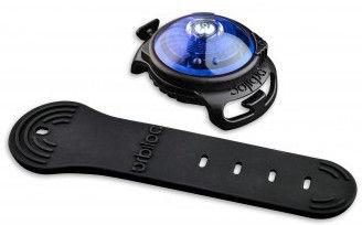 Orbiloc Dog Dual Safety Light Black/Blue